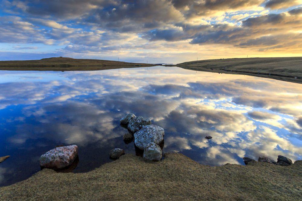 Eshaness, Shetland, Schottland