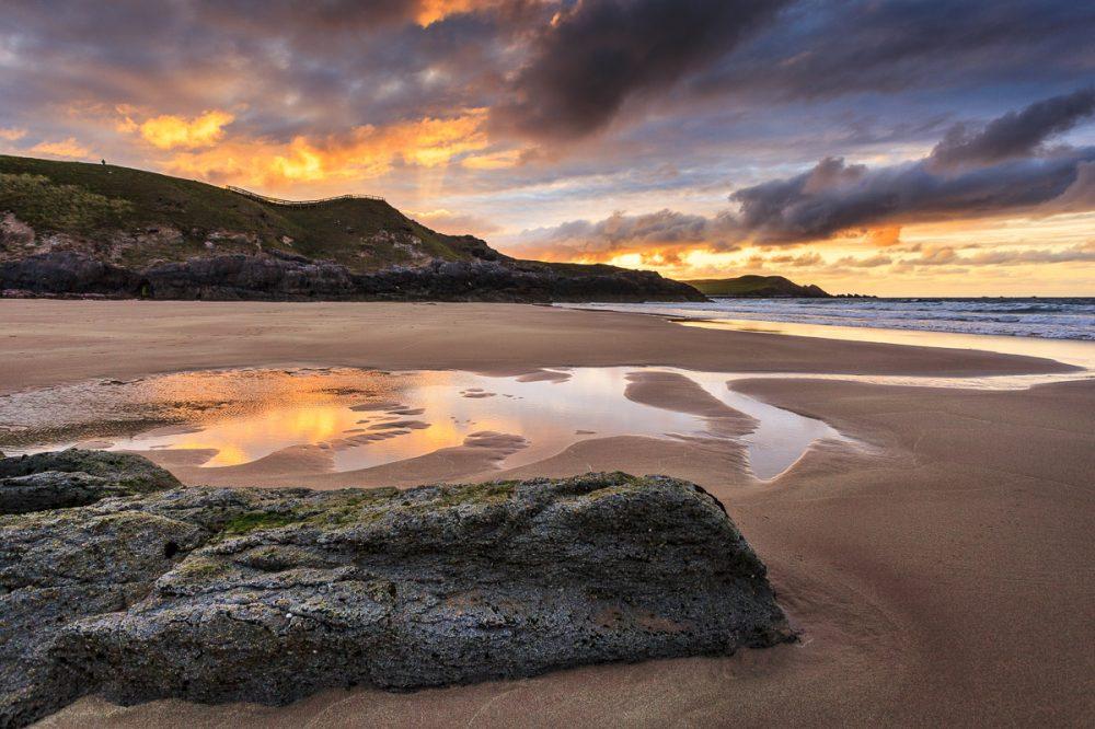 Durness Beach, Highlands, Schottland