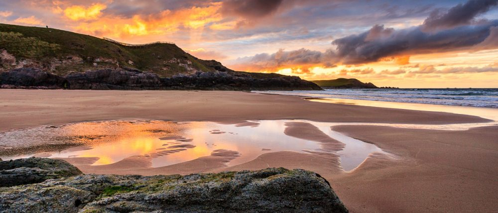 Durness Beach, Schottland