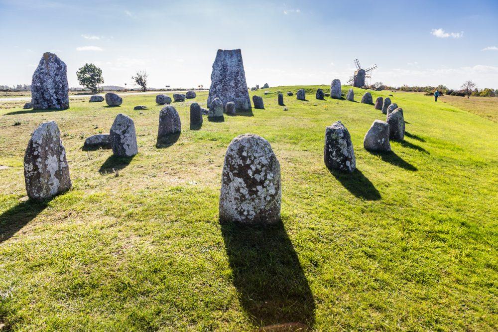 Gettlinge Grabstätte, Öland, Schweden