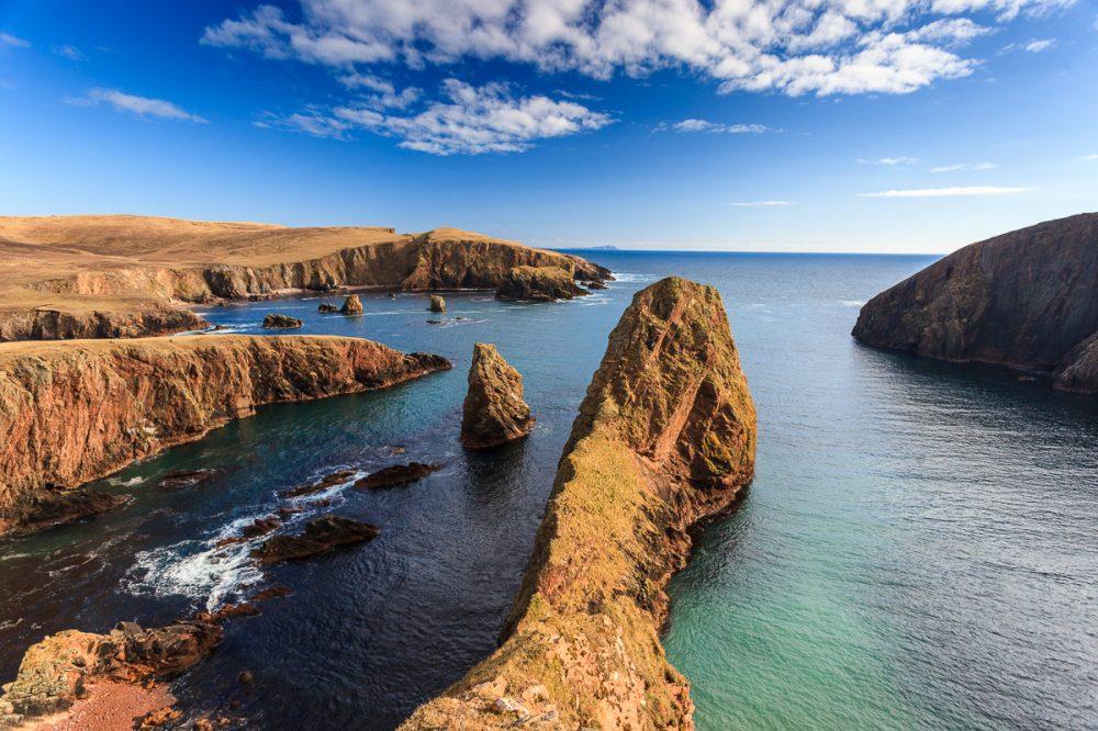 Klippen bei Westerwick, Mainland, Shetland
