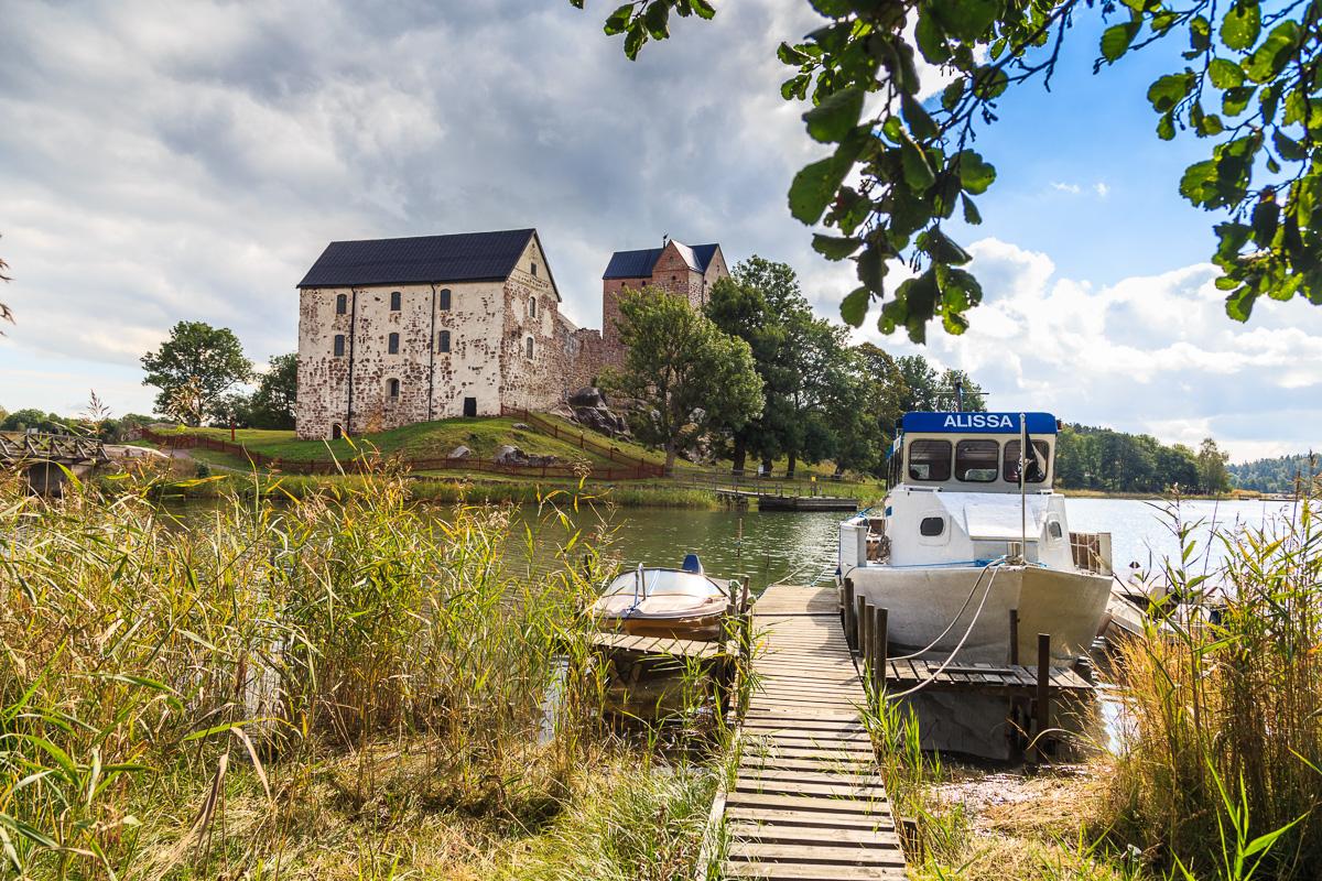 Kastelholmer Schloss, Åland, Finnland
