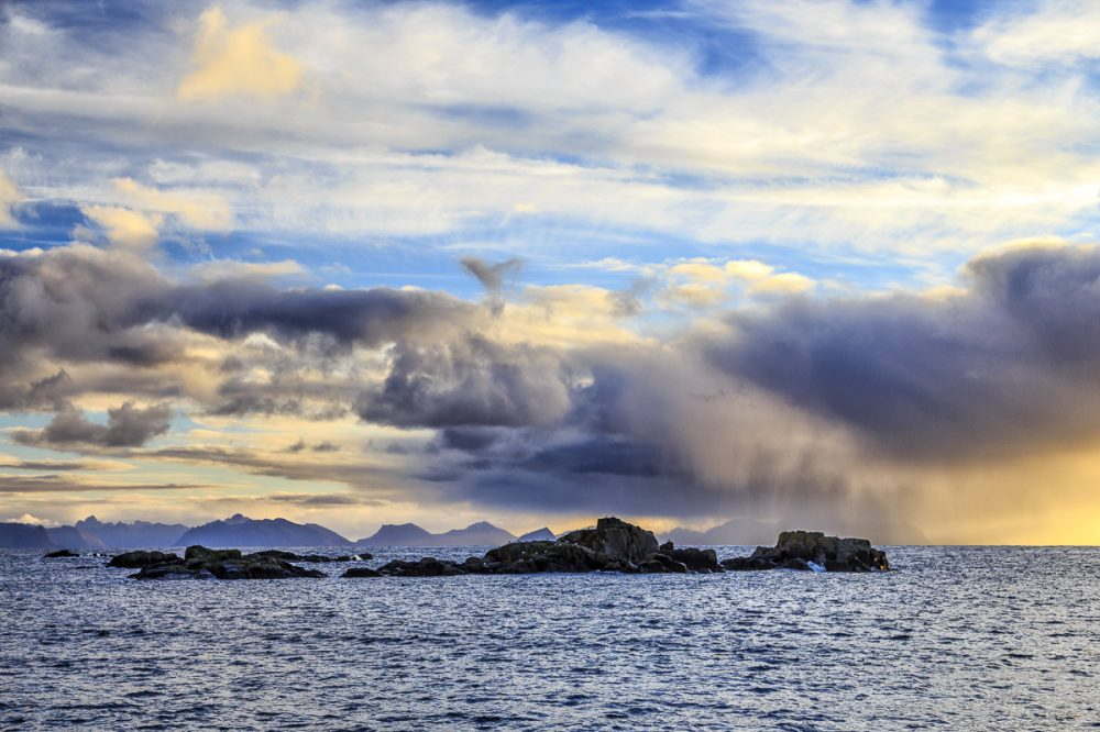 wechselhaftes Wetter auf Littleisland