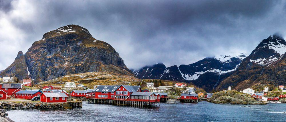 Moskenes, Lofoten, Norwegen