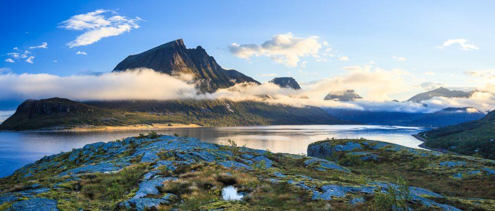 Küstenlandschaft an der RV 17, Norwegen