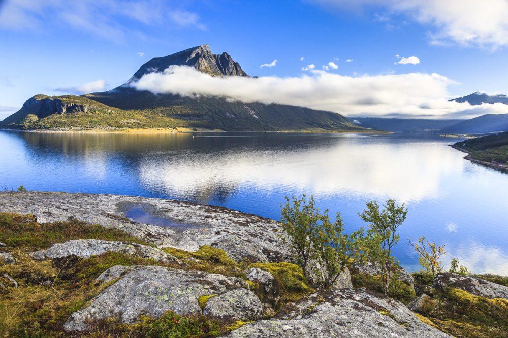 In der Nähe von Bronnøysund, Norwegen