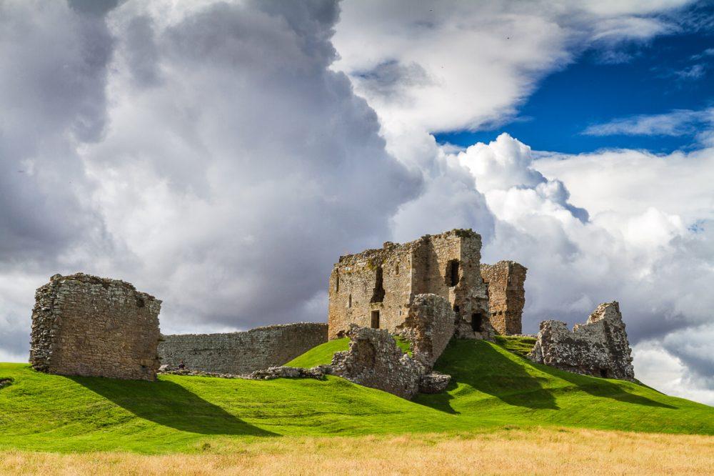 Duffus Castle, Moray, Schottland