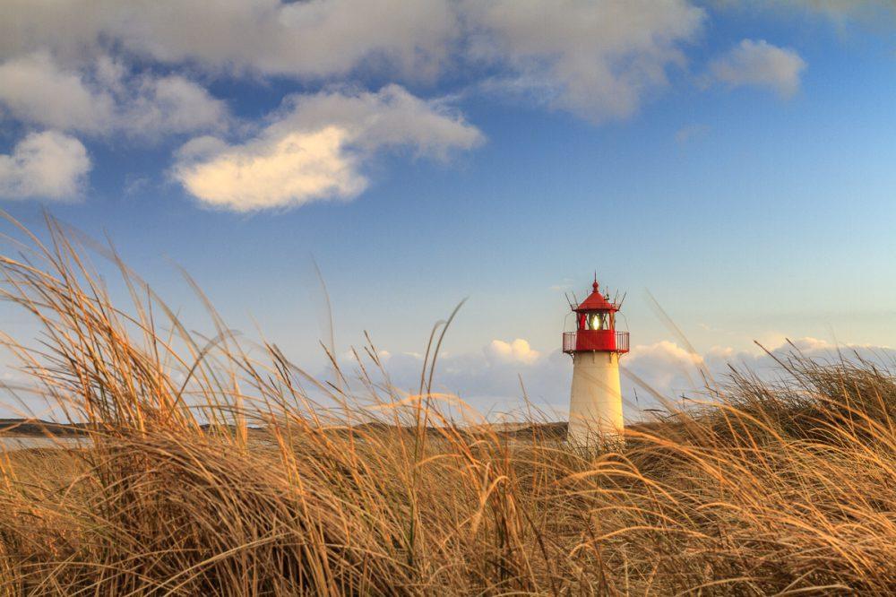List West Leuchtturm, Sylt, Deutschland