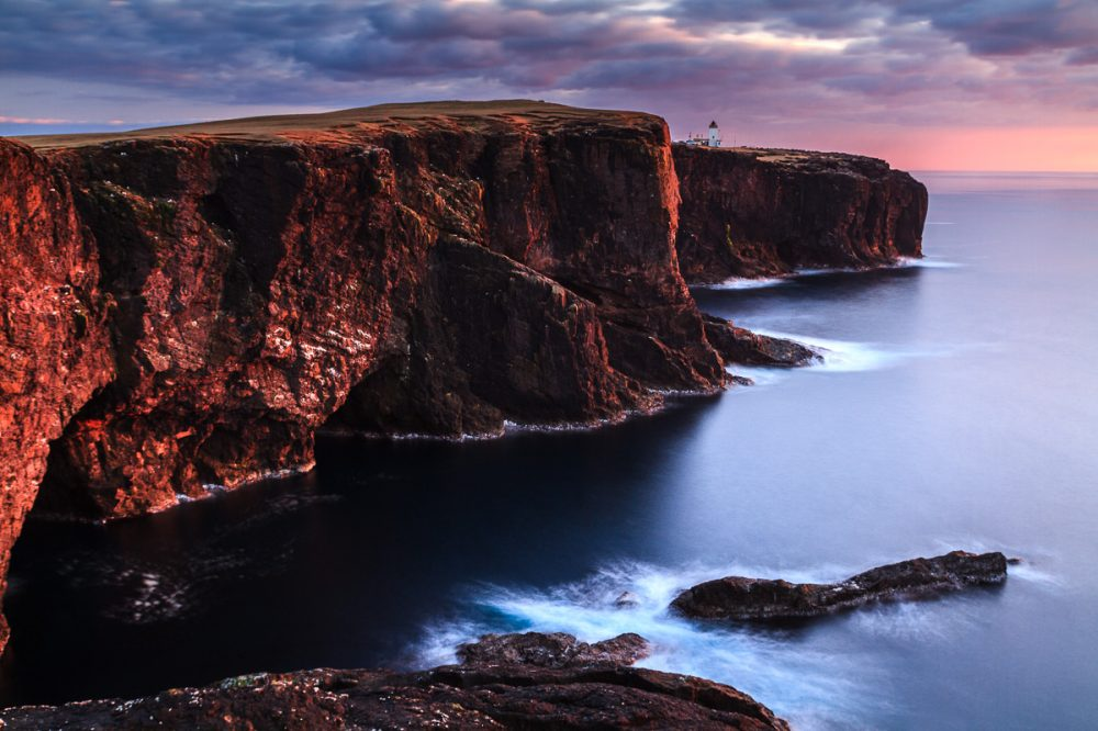 Klippen von Eshaness, Shetland