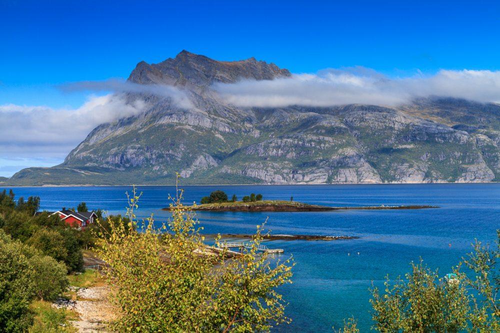 Melfjord, Norwegen