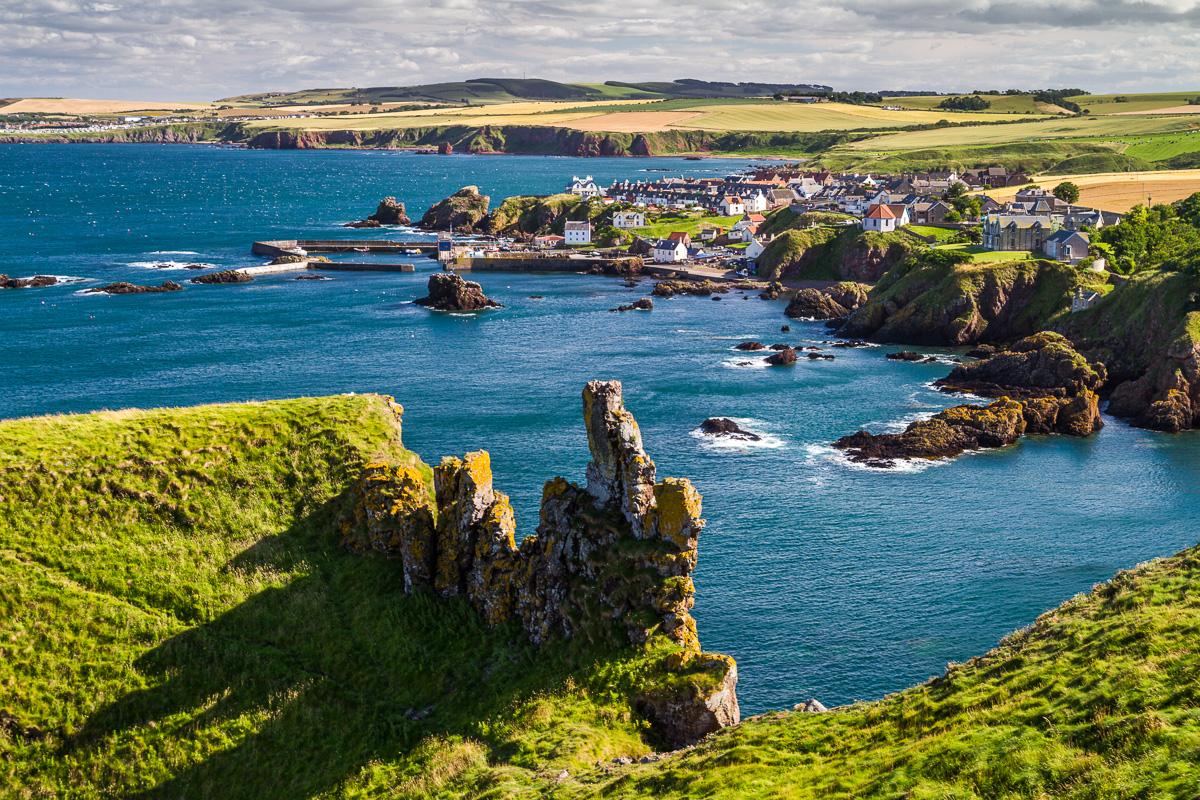 St Abbs, Borders, Schottland