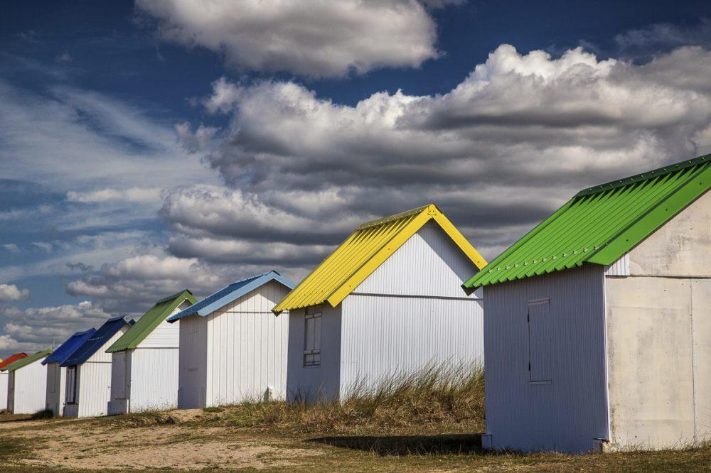 Gouville, Normandie, Frankreich
