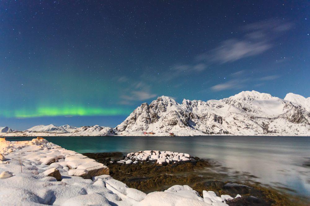 Nordlicht, Lofoten