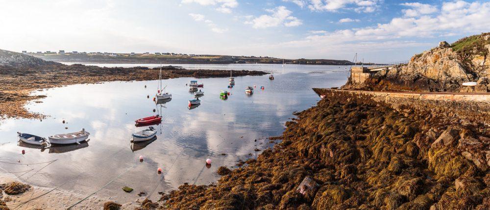 Kleiner Hafen, Ouessant, Bretagne