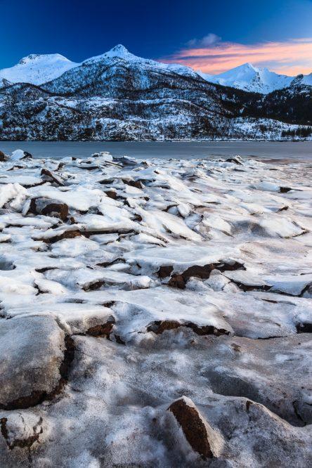 Olderfjord, Lofoten, Norwegen