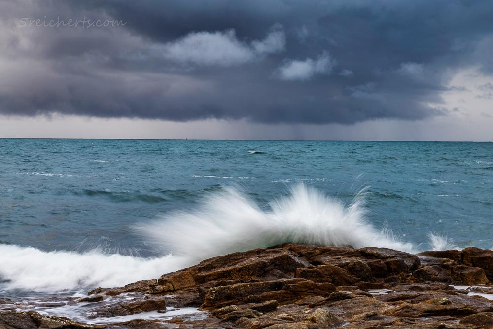 Wellen und Wolken, Lesconil
