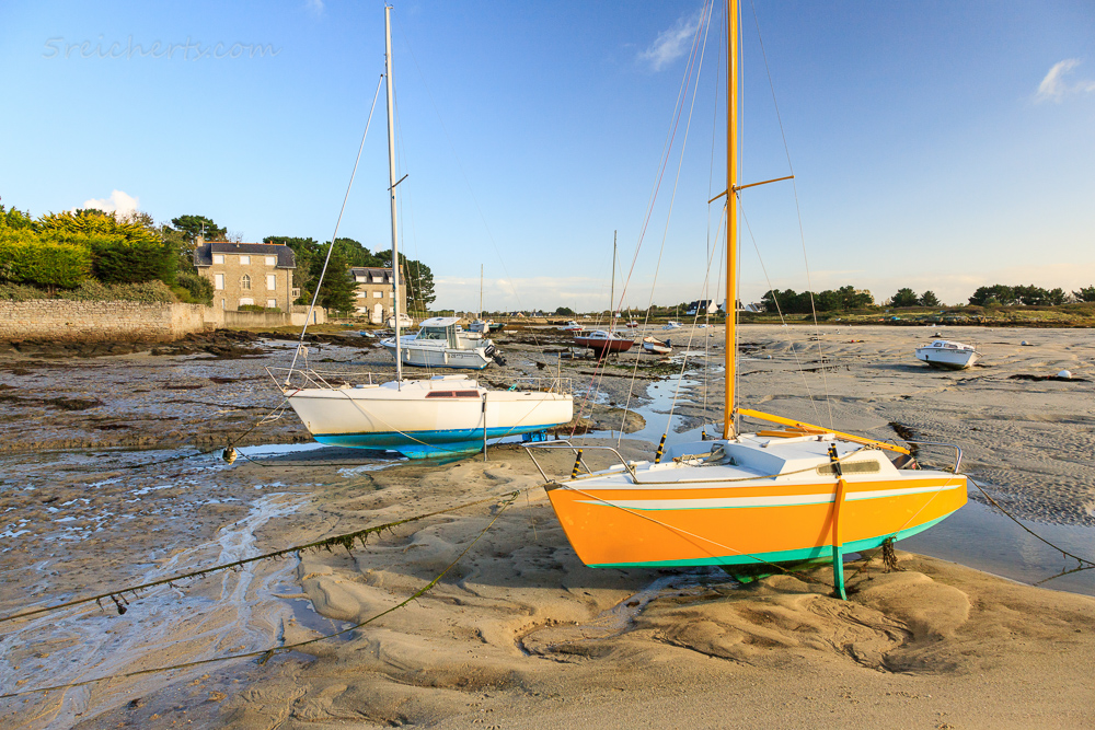 Ebbe in Lesconil