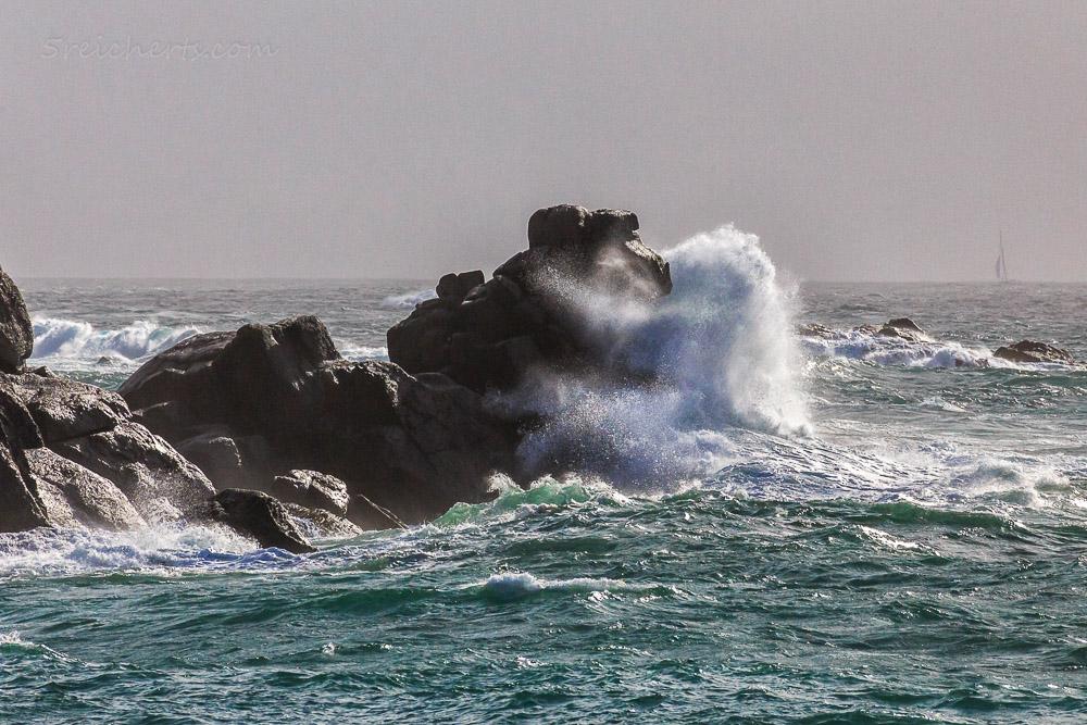 Wenn die Wellen den Felsen küsst, Porspoder