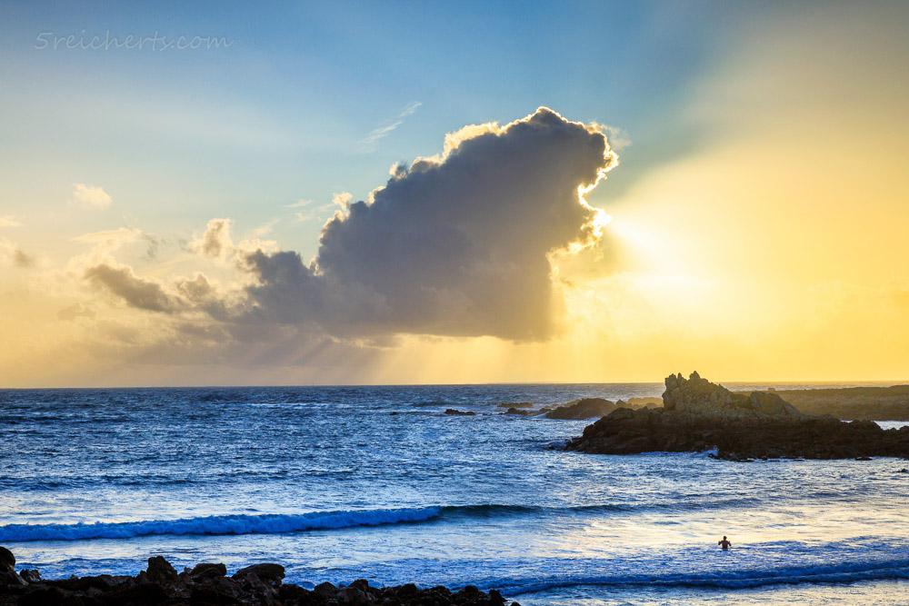 Wolke und Sonne, Porspoder