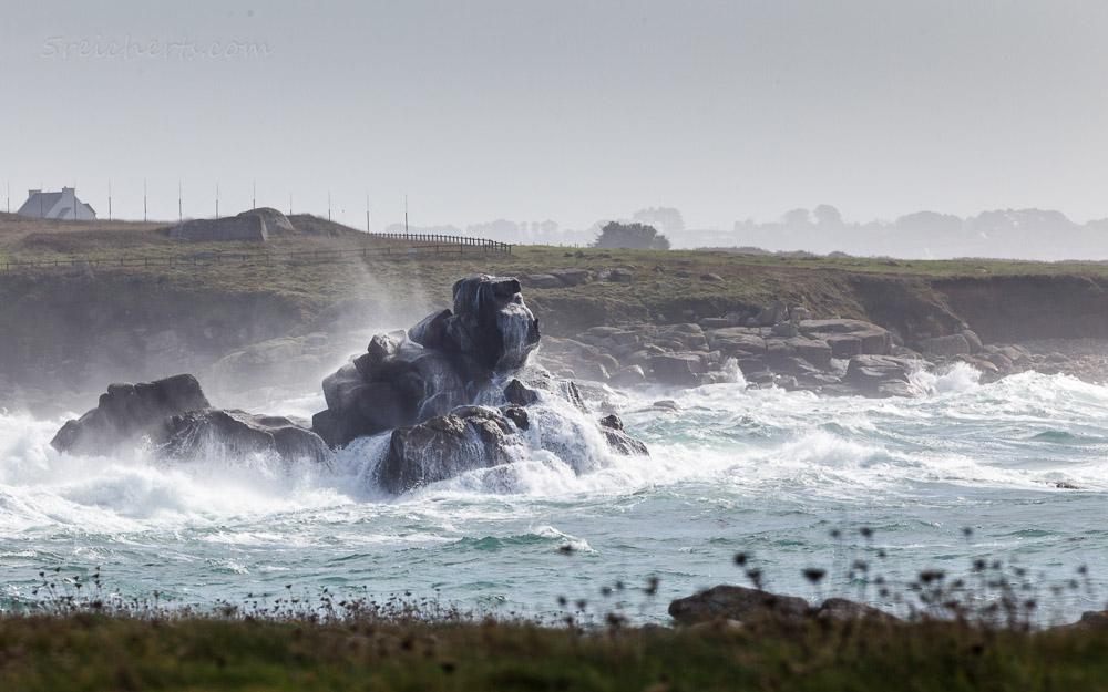 Felsen und Wellen, Porspoder