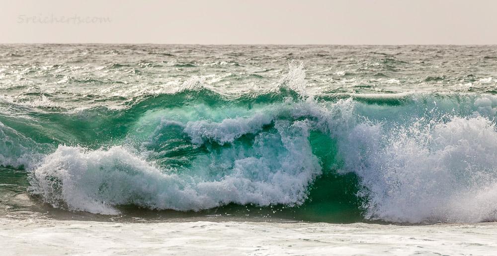 Wellen in Porspoder, Bretagne