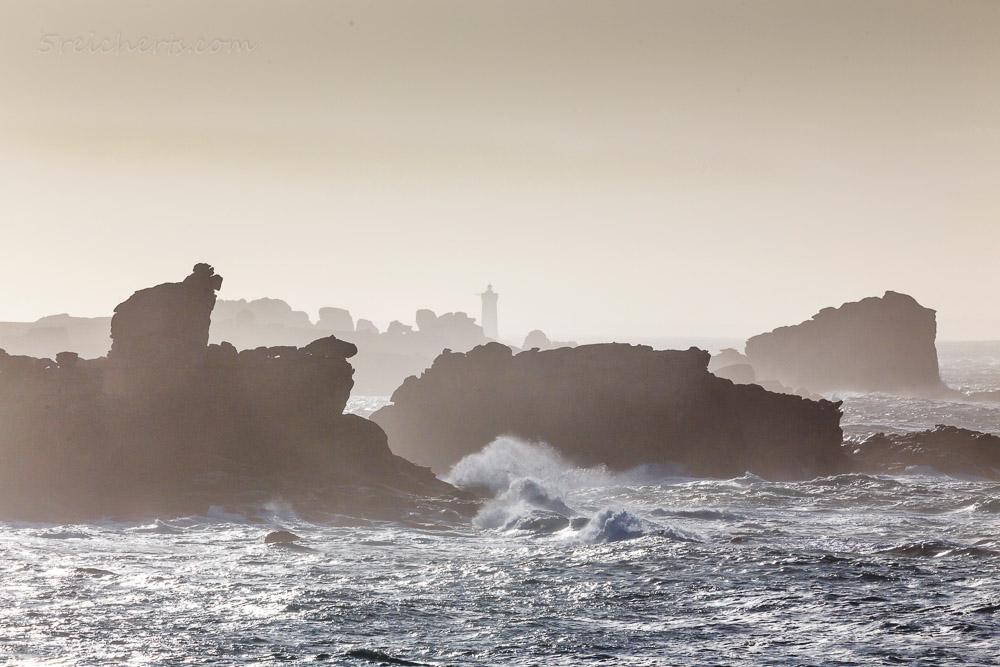 Der Fels, der aussieht wie ein Schaf, Porspoder, Bretagne