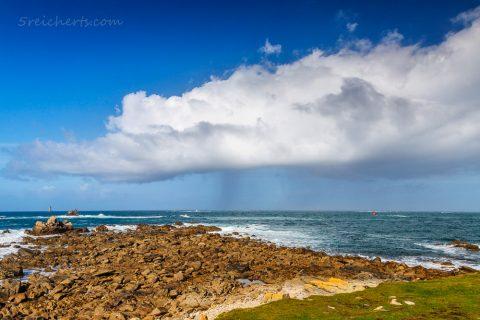 Regenwolke, Porspoder, Bretagne