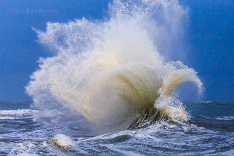 Splash, Welle in Lesconil