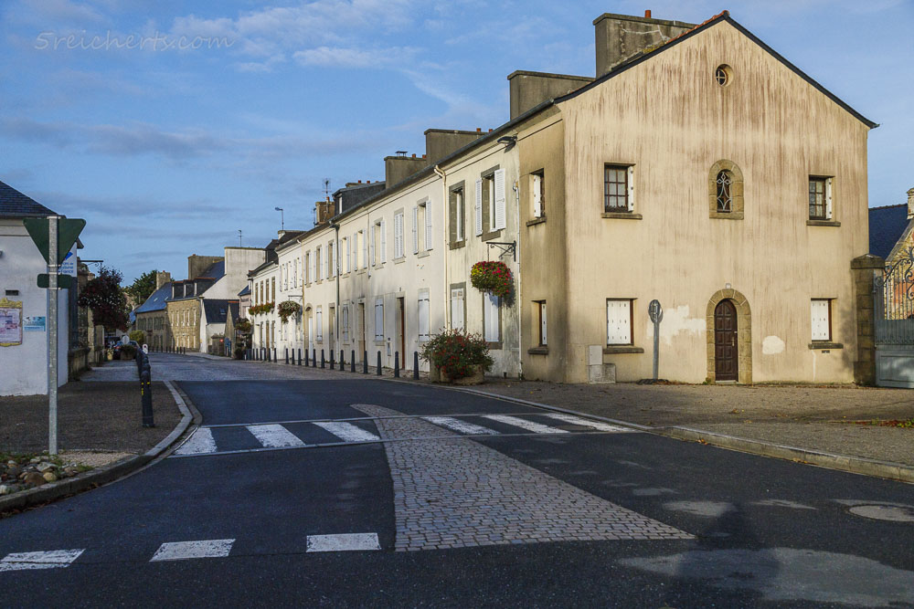 Straße in Le Conquet