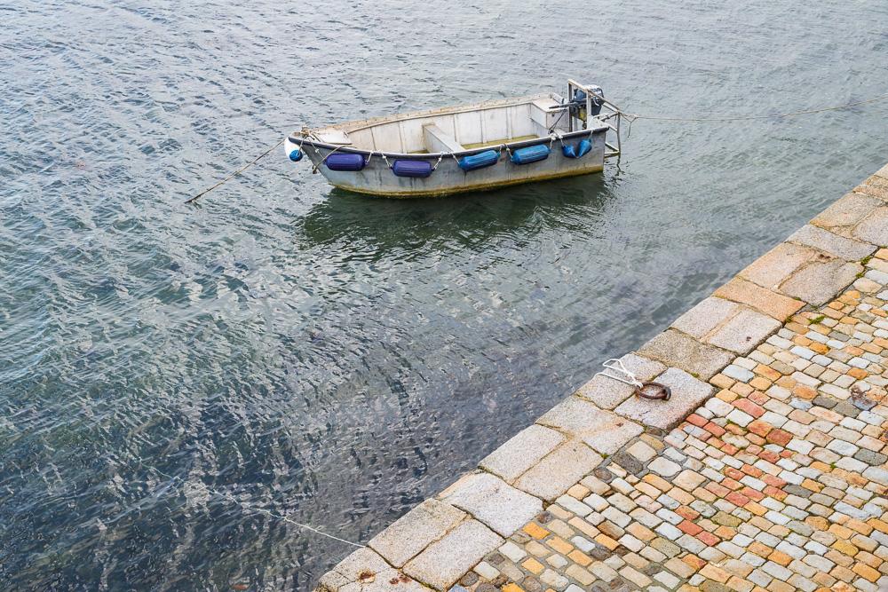 Boot bei Flut, Le Conquet
