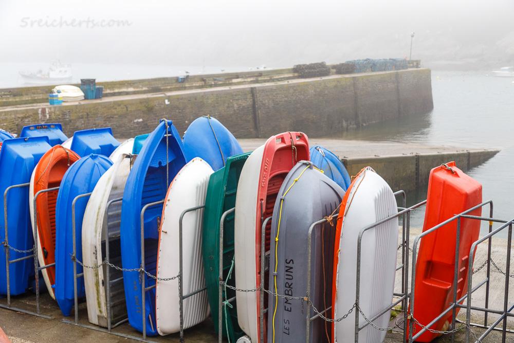 Hafenboote, Le Conquet, Bretagne