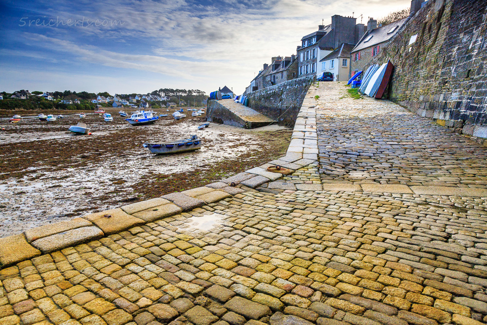 Bootsrampe, Le Conquet, Bretagne