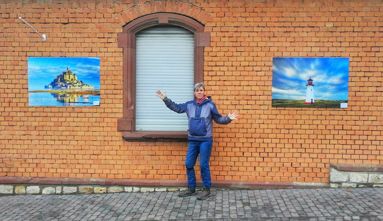 Zwei Bilder am Ortseingang Bubenheim