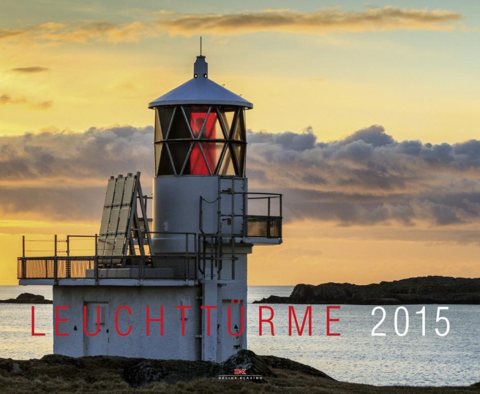 Leuchtturm Kalender 2015