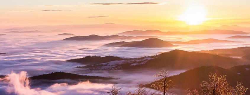 Sonnenaufgang auf Krim