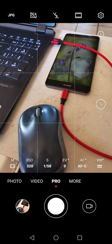 Screenshot des Huawei Mate 20pro