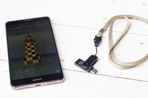Daten sichern mit dem OTG Stick