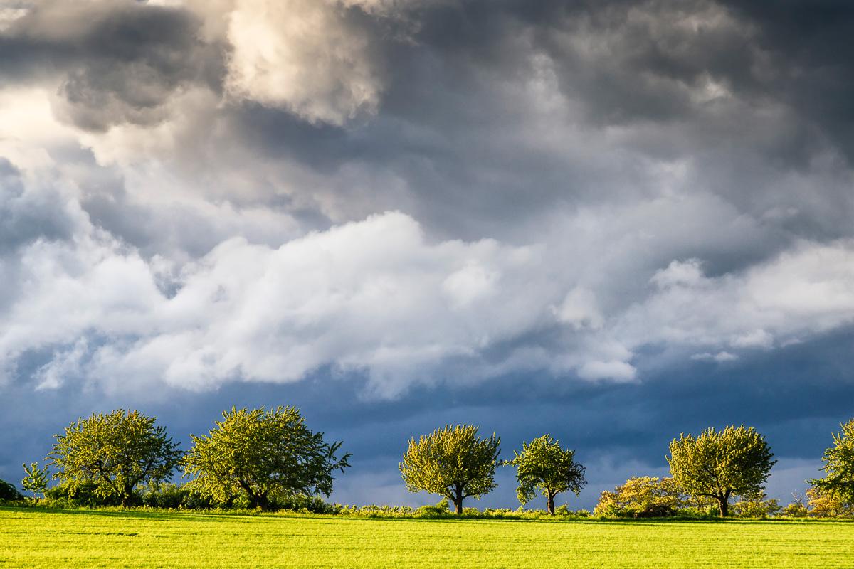 Regenwolken Bubenheim