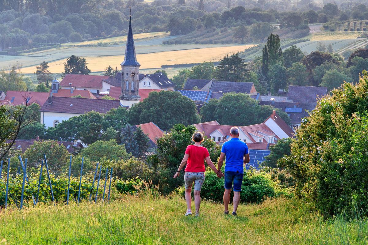Spaziergang bei Schwabenheim