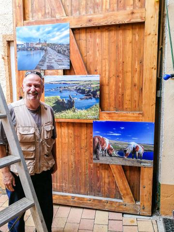 Schottland Fotos im Weingut Schenkel