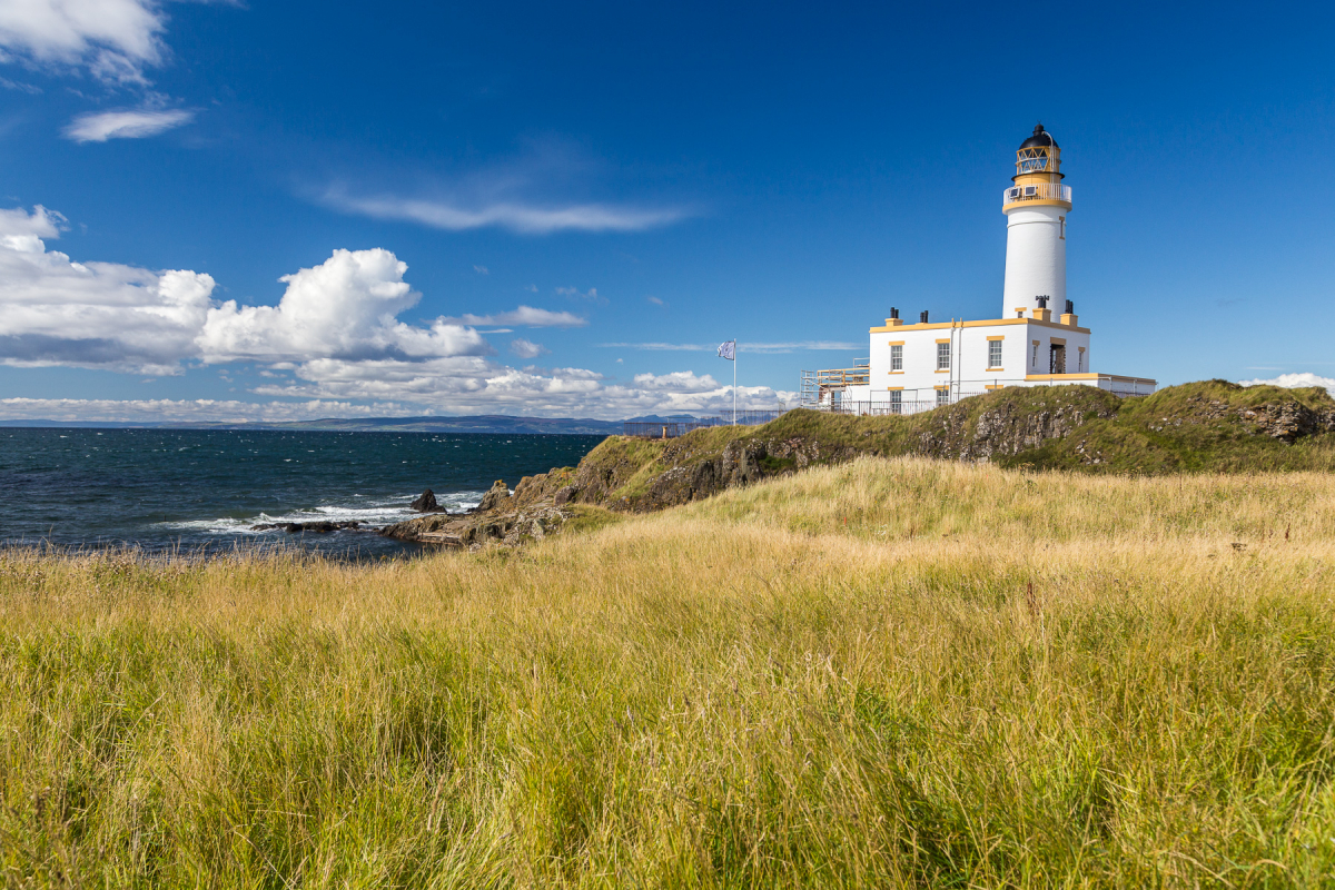 Turnberry Lighthouse, Galloway, Schottland