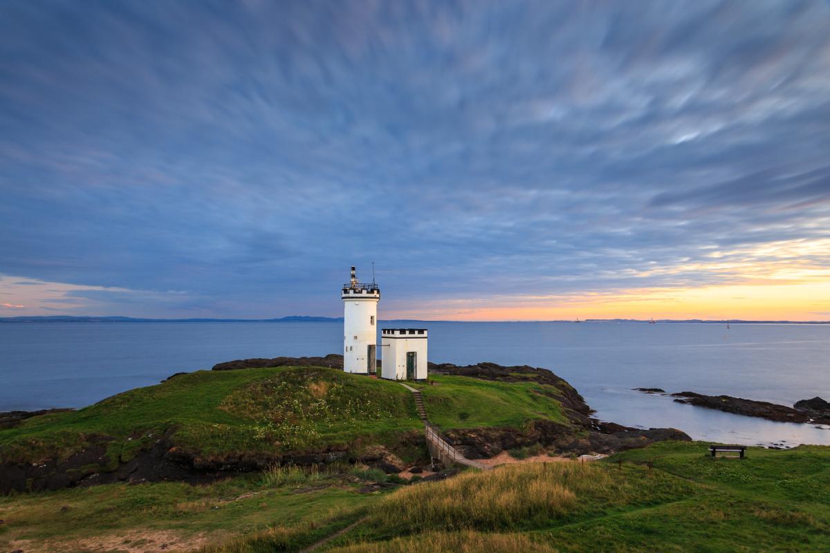 Elie Lighthouse, Fife, Schottland