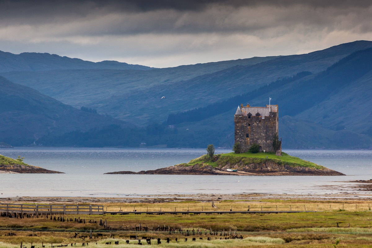 Castle Stalker, Argyll & Bute, Schottland