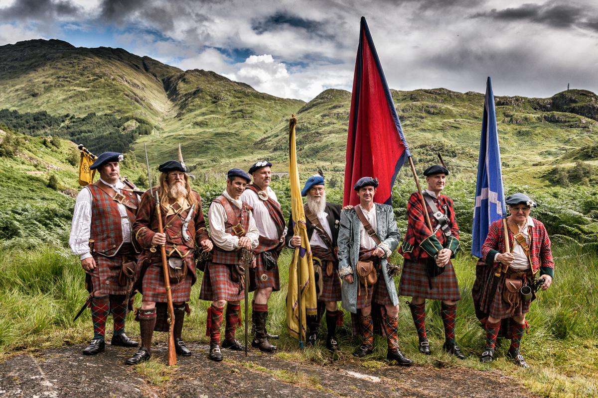 Schotten, Highland Games, Glenfinnan, Schottland